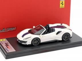 Ferrari 488 Pista Spider year 2018 italia white 1:43 LookSmart