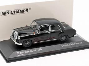 Mercedes-Benz 180 (W120) year 1955 black 1:43 Minichamps