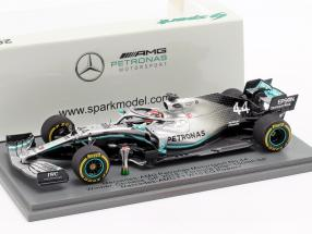 L. Hamilton Mercedes-AMG F1 W10 #44 Winner China GP Formel 1 2019 1:43 Spark