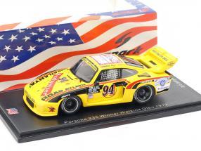 Porsche 935 #94 Winner Watkins Glen 6h 1979 D. Whittington, Ludwig, B. Whittington 1:43 Spark