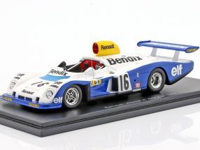 Alpine A442 #16 24h LeMans 1977 Pironi, Arnoux, Frequelin 1:43 Spark