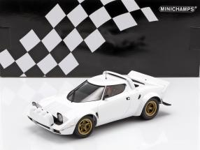 Lancia Stratos year 1974 white 1:18 Minichamps