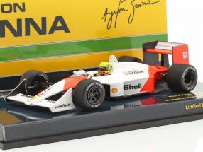 A. Senna McLaren MP4/4 #12 Winner Hungary GP World Champion F1 1988 1:43 Minichamps