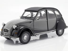Citroen 2CV Charleston year 1982 grey / black 1:8 Premium X