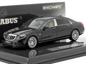 Maybach Brabus 900 auf Basis Mercedes-Benz Maybach S600 2016 schwarz 1:43 Minichamps