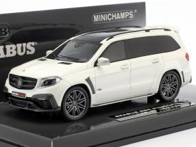 Brabus 850 Widestar XL based on AMG GLS 63 2017 white metallic 1:43 Minichamps
