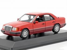 Mercedes-Benz 230E (W124) year 1991 red 1:43 Minichamps