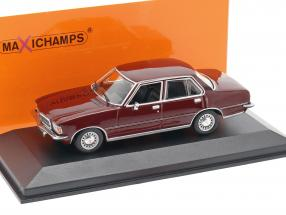 Opel Rekord D year 1975 dark red 1:43 Minichamps