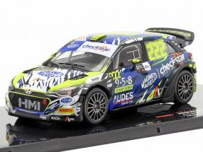 Hyundai NG i20 WRC #222 Monza Rallye Show 2018 Cairoli, Mori 1:43 Ixo