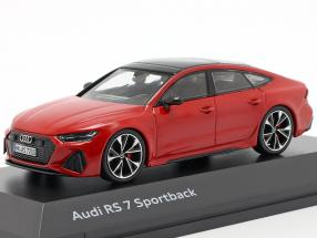 Audi RS 7 Sportback tango red 1:43 Spark