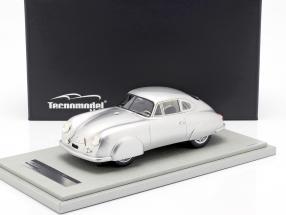 Porsche 356 SL Street Version year 1951 silver 1:18 Tecnomodel