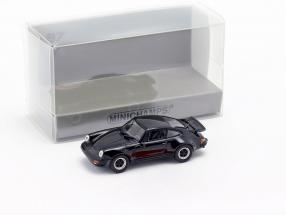 Porsche 911 Turbo (930) year 1977 black 1:87 Minichamps