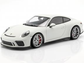 Porsche 911 (991 II) GT3 Touring year 2018 white 1:18 Minichamps