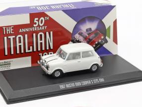 Austin Mini Cooper S 1275 MK1 1967 Movie The Italian Job (1969) white 1:43 Greenlight