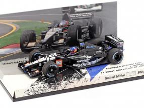 Fernando Alonso Minardi PS01 #21 F1 Debut Australian GP 2001 1:43 Minichamps