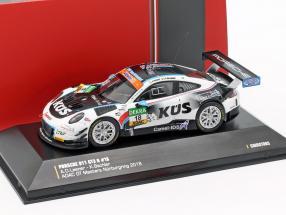 Porsche 911 GT3 R #18 GT Masters Nürburgring 2018 KÜS TEAM75 Bernhard 1:43 CMR