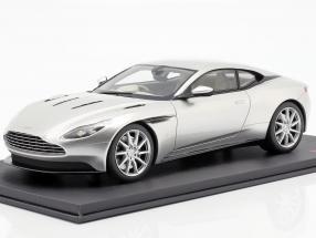 Aston Martin DB11 Coupe year 2017 silver 1:18 TrueScale
