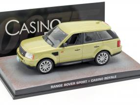 Range Rover Sport Car James Bond movie Casino Royale gold 1:43 Ixo