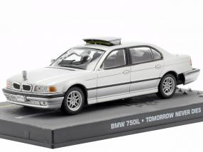 BMW 750iL James Bond Movie Car of Tomorrow Never Dies gray 1:43 Ixo
