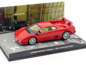 Lamborghini Diablo Car James Bond movie Die Another Day red 1:43 Ixo