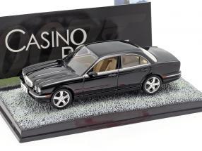 Jaguar XJ8 James Bond movie Casino Royale Car Black 1:43 Ixo