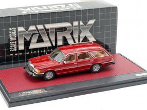 Mercedes-Benz Crayford (W116) 450SE Estate year 1977 red 1:43 Matrix