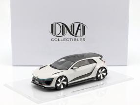 Volkswagen VW Golf GTE Sport Concept Car white 1:18 DNA Collectibles