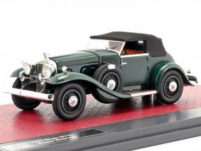 Stutz DV32 Super Bearcat Closed year 1932 dark green 1:43 Matrix