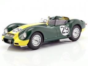 Jaguar Lister #29 Winner Daily Express Sports Car Race Silverstone 1958 Moss 1:18 Matrix