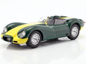 Jaguar Lister year 1958 green / yellow 1:18 Matrix
