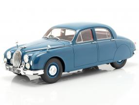 Jaguar 2.4 MKI year 1955 blue 1:18 Cult Scale