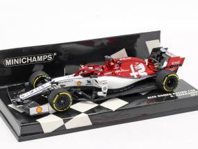 Kimi Räikkönen Alfa Romeo Racing C38 #7 formula 1 2019 1:43 Minichamps