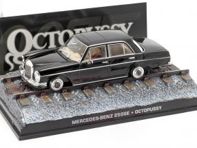 Mercedes-Benz 250SE James Bond movie Octopussy Car Black 1:43 Ixo