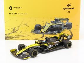Daniel Ricciardo Renault R.S.19 #3 Australian GP formula 1 2019 1:18 Spark