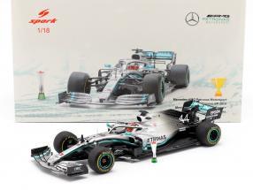 L. Hamilton Mercedes-AMG F1 W10 #44 Winner Chinese GP F1 2019 1:18 Spark