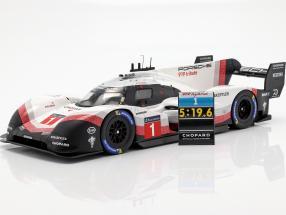 Porsche 919 Hybrid Evo #1 lap record Nürburgring 2018 T. Bernhard