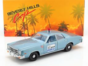 Plymouth Fury Detroit Police 1977 Movie Beverly Hills Cop (1984) 1:18 Greenlight