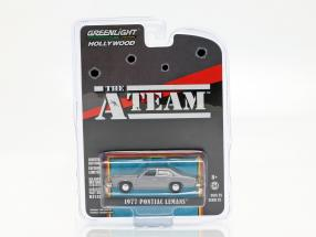 Pontiac LeMans 1977 TV series The A-Team (1983-87) silver grey 1:64 Greenlight