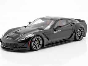 Chevrolet Corvette C7 Prior Design 2019 black 1:18 GT-Spirit
