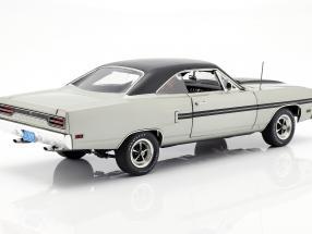 Plymouth GTX year 1970 silver metallic / black