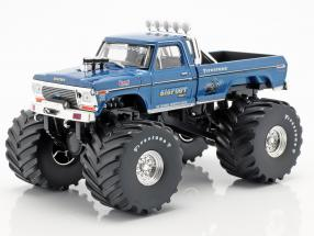 Ford F-250 Monster Truck Bigfoot #1 year 1974 blue 1:43 Greenlight