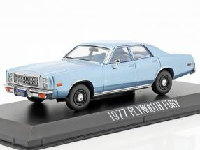 Plymouth Fury 1977 Movie Christine (1983) light blue metallic 1:43 Greenlight
