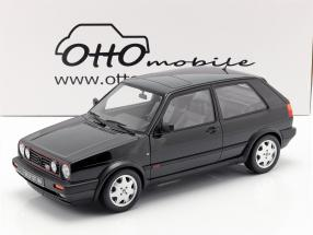 Volkswagen VW Golf GTI Mk2 16V year 1989 black 1:12 OttOmobile
