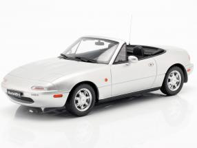Mazda MX-5 year 1990 Silverstone silver 1:18 OttOmobile