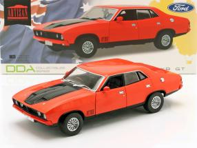 Ford Falcon XB GT351 year 1974 red / black 1:18 Greenlight