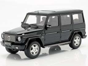 Mercedes-Benz G-Class 55 AMG year 2003 obsidian black 1:18 OttOmobile