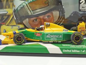 Michael Schumacher Benetton B193B #5 Italian GP formula 1 1993