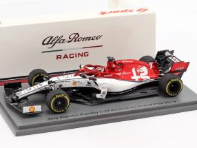 Kimi Räikkönen Alfa Romeo Racing C38 #7 Australian GP F1 2019 1:43 Spark