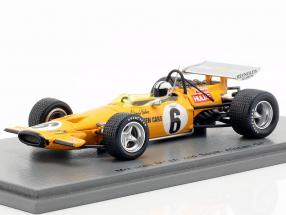 Denis Hulme McLaren M14A #6 2nd South Africa GP formula 1 1970 1:43 Spark