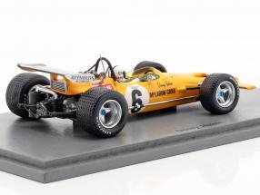 Denis Hulme McLaren M14A #6 2nd South Africa GP formula 1 1970